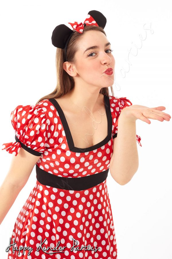 Minnie Mouse Childrens Party Entertainer Costume