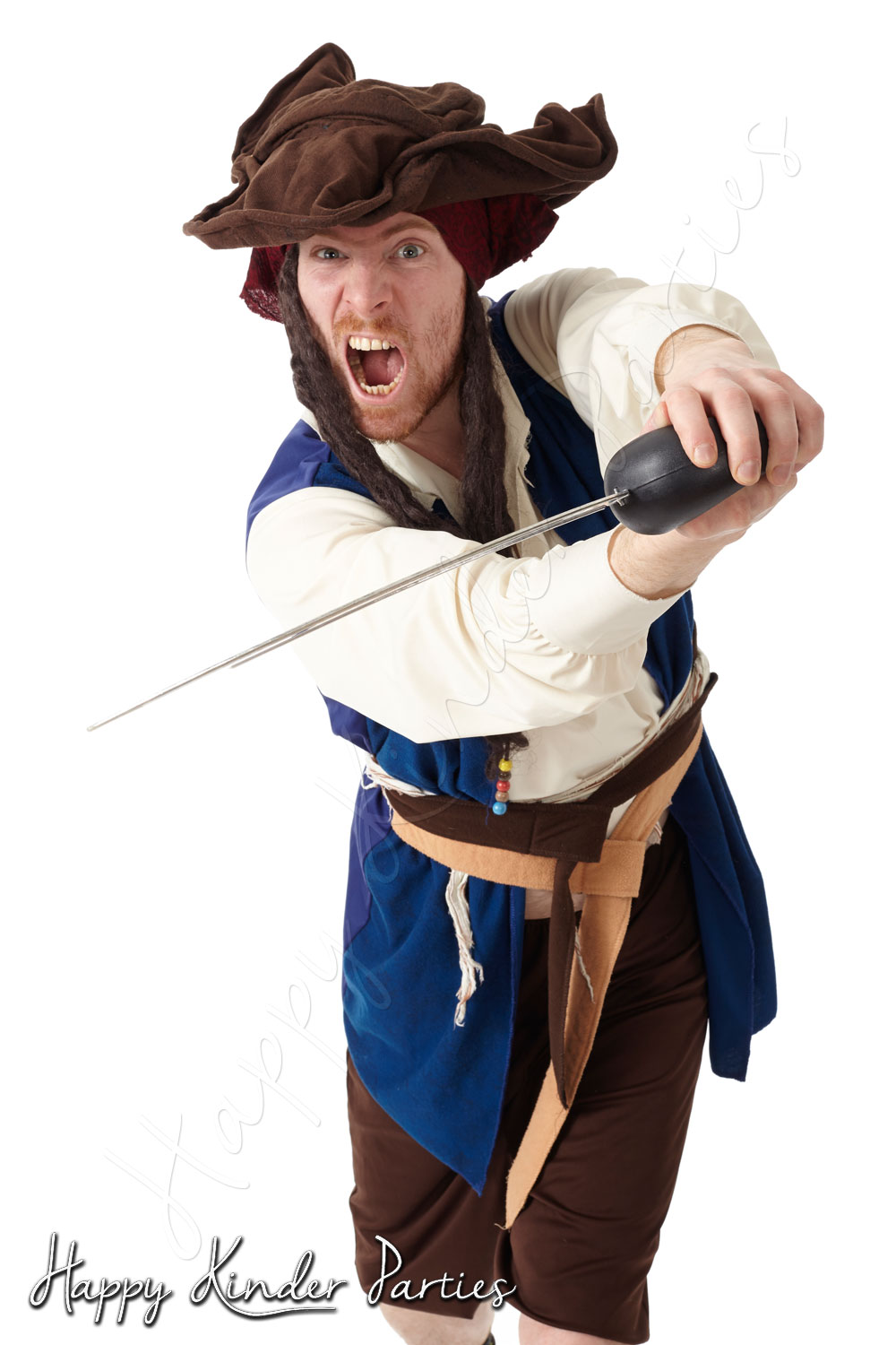 Pirate Childrens Party Entertainer Costume