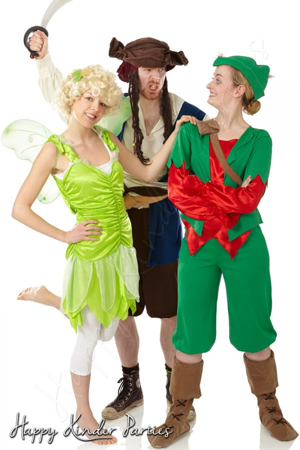 Peter Pan Childrens Party Entertainer Costume