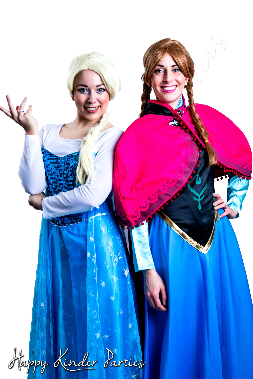 Frozen Duo Childrens Party Entertainer Costume