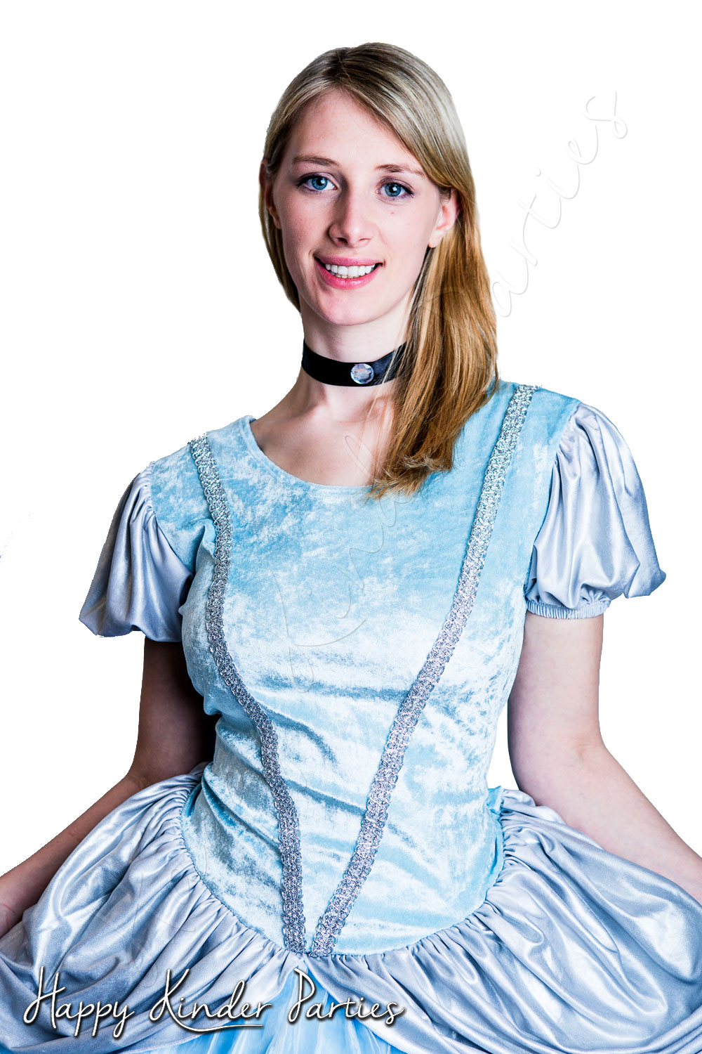Cinderella Childrens Party Entertainer Costume